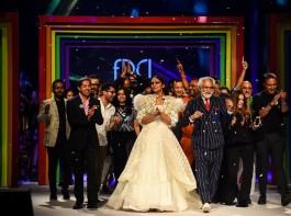 Lotus Make-UP India Fashion Week - Rainbow