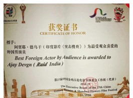 Ajay Devgn's Raid wins big at film festival in China