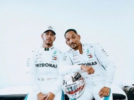 Will Smith and Lewis Hamilton Take Over The F1 Paddock