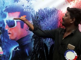 2.0 Releases As Fans Celebrate Rajinikanth