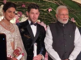 NickYanka's Wedding Reception In Delhi