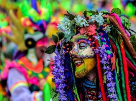 Colombian Carnival of Blacks and Whites