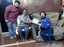T Rajendar Invites Captain Vijayakanth for Kuralarasan's Wedding