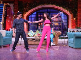 Tiger Shroff and Tara Sutaria on The Kapil Sharma Show
