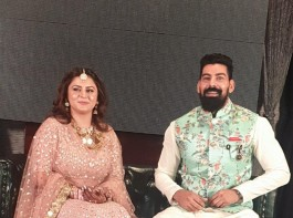 Actor Kabir Duhan Singh and singer Dolly Sindhu engagement pics