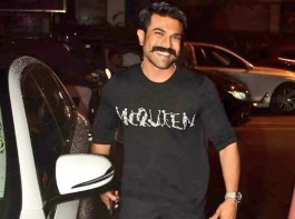 Ram Charan Teja's look in RRR Out