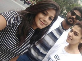 Nayantara and Vignesh Shivan at New York.