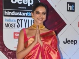 Deepika Padukone who recently attended the HT Most Stylish Awards, recreated the Padmaavat pose at the red carpet. The beautiful actress was seen folding her hands as she was posing for shutterbugs recreating the Padmaavat pose ahead of the film's release. The gesture almost looked like Deepika way of expressing gratitude to all the love that is coming her way post the early screenings of Padmaavat.