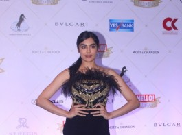 Adah Sharma arrives at the Hello Hall of Fame Awards 2018 held at St. Regis hotel in Lower Parel, Mumbai.