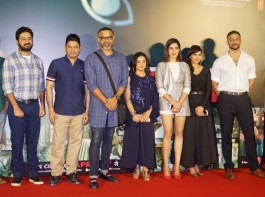 Celebs like Pradyuman Singh, Divya Dutta, Kirti Kulhari, Anuja Sathe and Arunoday Singh spotted during the launch of song Badla from Blackmail movie in Mumbai.