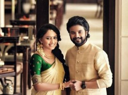 Malayalam young actor Neeraj Madhav engaged to Deepthi at Karapparambu, Calicut.