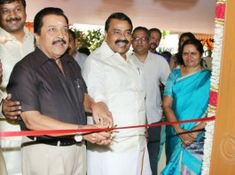South Indian actor Sivakumar launches Paati Veedu hotel in T Nagar, Chennai on 27th March.