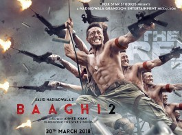 1. Biggest action film of the year: 'Baaghi 2' will showcase power-packed stunts and high octane sequences of all forms providing a variety of powerful sequences for action lovers. The action flick includes a chase sequence, an indoor hand to hand combat sequence and also an outdoor mega action sequence. The action scenes will not only include hand to hand sequences but also all kinds of explosives and weapons. Taking the action a notch higher with its second instalment Baaghi 2 will enhance the action for the audience showcasing Tiger Shroff in a more muscular avatar than the prequel.