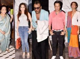Poonam Dhillon turns 56, Throws lavish star-studded birthday party at Tippling Street in Juhu, Mumbai. From left to right Asha Bhosle, Krishika Lulla, Jackie Shroff, Madhur Bhandarkar and Achint Kaur graced the event. Check out the above slideshow to see the photos of celebs like Akbar Khan, Anju Anu Malik, Anmol Malik, Deepshikha Nagpal, Fashion Designer Rohit Verma, Himalaya Dasani, Bhagyashree, Karan Patel, Ankita Bhargava, Nafisa Ali, Rajesh Khattar, Vandana Sajnani, Ramesh Taurani, Shabana Azmi, Javed Akhtar, Vindu Dara Singh, Dina Umarova and other celebs were also seen during a birthday party.