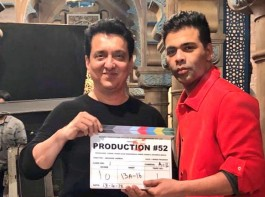 The shooting for filmmaker Karan Johar's next production venture