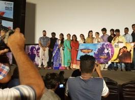 Tamil movie Mr. Chandramouli audio launch event held today in Chennai. Celebs like Suriya, Arya, Vijay Antony, Shanthnu, Varalaxmi Sarathkumar, Gautham Karthik, Regina Cassandra, Navarasa Nayagan Karthik Muthuraman, Director Dhananjayan Govind and others graced the event.