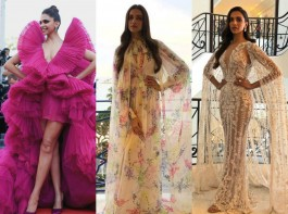 Deepika Padukone has been treating her fans with versatile styles ever since she touched down in the French Riveria. The actress has been upping her fashion ante with each appearance. Interestingly, Deepika has been playing around cleverly with the 'cape' style. The actress who marked her debut at Cannes last year in a stunning emerald green one-shoulder cape gown has returned to the International Film Festival with her Superwoman cape. From her uber cool airport spotting to her chilled out casual avatar or her rendezvous with floral prints and her stunning mesh white gown, Deepika has been grabbing eyeballs with every appearance. Here's a look at Bollywood's leading lady winning hearts with her stunning capes.