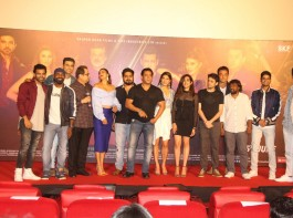 The makers and cast of Race 3 launched their song Allah Duhai Hai in 3D at a grand event in Mumbai. After 'Heeriye' and 'Selfish', the makers of Race 3 have released the franchise's theme song, 'Allah Duhai Hai' but in 3D. The theme track of the action thriller 'Allah Duhai Hai' from Race has been an instant hit with the audiences since the first installment of the film had released. It was an extravagant evening with few of the biggest names from Bollywood like Salman Khan, Jacqueline Fernandez, Remo D'Souza, Ramesh Taurani, Bobby Deol, Daisy Shah, Saqib Saleem, Neha Bhasin, Meet Brothers, Jonita Gandhi, Sreerama Chandra, Vishal Mishra Lulia Vantur, Freddy Daruwala and Veera Saxena. The event started with Neha Bhasin and Meet Bros' performance on Race first song Heeriye. Later Lulia Vantur and Vishal Mishra took the stage over and performed on Selfish.