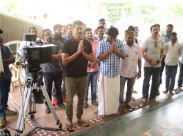 Choreographer-actor-filmmaker Prabhudheva has started shooting for his next yet untitled film in which he will sport a police uniform for the first time.