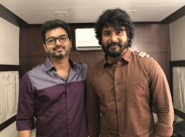 Birthday wishes are pouring in for the actor on his 44th birthday. Celebs like Sivakarthikeyan, Dhanush, Vishal, Raai Laxmi, A.R.Murugadoss, Prasana, Gautami, Hansika Motwani, Arya and others wish Thalapathy Vijay on his birthday. Actor Sivakarthikeyan tweeted: Happy birthday #Thalapathy @actorvijay sir????Best wishes for #SARKAR sir
