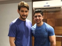 Mahesh Babu is leaving no stone unturned for this film. The actor is training hard and is prepping up for the role. Mahesh has also started training with trainer Mustafa for the film. Mahesh Babu took to Instagram sharing the picture with his trainer captioning,