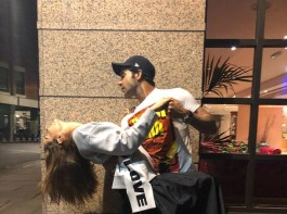 'Mental Hai Kya' stars Kangana Ranaut and Rajkummar Rao went crazy on the streets of London after wrapping up the shooting of the movie. The official Instagram account of the actress' team shared the picture wherein Kangana and Rajkumar could be seen giving a romantic pose. The caption reads,