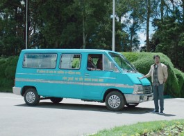 Dulquer Salmaan who is all set to mark his Bollywood debut with Karwaan receives a pre-birthday gift from director Akarsh Khurana. Akarsh Khurana is gifting Dulquer the blue van that he travels in, with co-stars Irrfan Khan and Mithila Palkar on board, through the film. While talking about the gift, Akarsh shared,