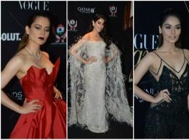 Vogue Beauty Awards 2018: Kangana Ranaut, Janhvi Kapoor, Manushi Chhillar, Katrina Kaif and Sonakshi Sinha make a splash