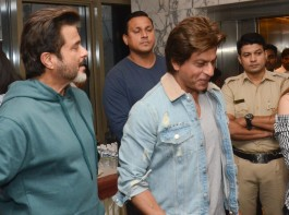Shah Rukh Khan with Anil Kapoor