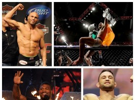 The UFC Hall of Famers