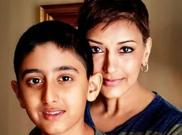 Sonali Bendre shares heartwarming post on son's b'day