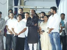 Karunanidhi prayer meet: Celebs like MK Stalin, Rajinikanth, Vishal and others attend.