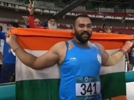 Tajinderpal Singh Toor won GOLD medal