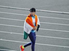 Neeraj Chopra wins gold in javelin throw at the Asian Games 2018