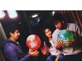 Alia Bhatt's picture with rumoured boyfriend Ranbir Kapoor and Brahmastra director Ayan Mukherji.