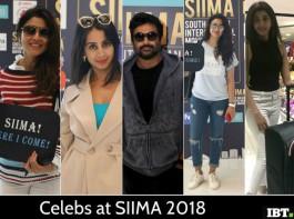 Celebs at SIIMA 2018