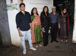 Kritika Kamra attended the screening with her entire family