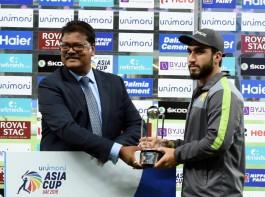 Usman was adjudged the Man of the Match award