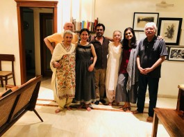 Rasika turns host for Manto's daughters in India