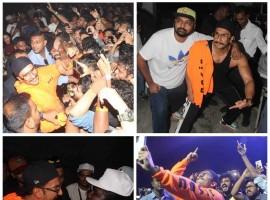 Ranveer Singh sets the stage on fire at rapper Divine's Gully Fest