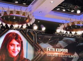 Ekta Kapoor awarded as the 'Icon of Excellence' at the Tycoons of Tomorrow awards