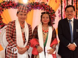 Olympian Jitu Rai weds Sushmita Rai