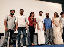 Celebs at Vada Chennai press meet