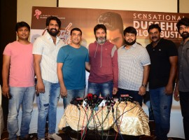 Celebs at Aravinda Sametha success meet