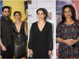 Celebs at Andhadhun success party