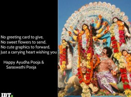 Happy Ayudha Pooja and Saraswathi Pooja 2018: Best quotes, wishes, greetings, SMS to share