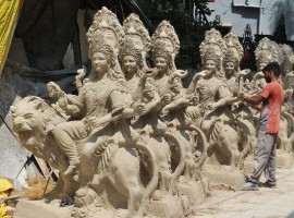 Durga Puja: From Bangalore to Amritsar, idol makers who bring the goddess to life