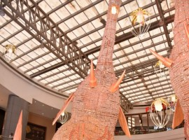 Gauri Khan's stunning Elephant installation at Phoenix Market City in Kurla