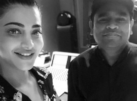 Shruti Haasan with AR Rahman