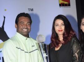 Leander Paes and Aishwarya Rai Bachchan